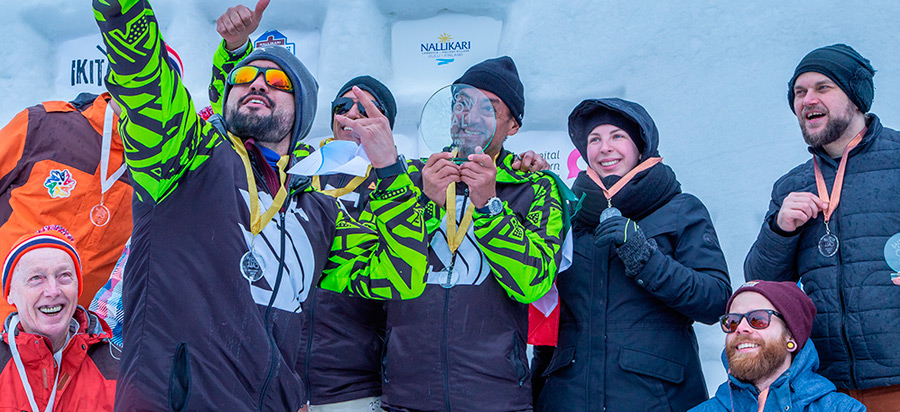 Winners of the second annual Baltic Snow Call! Photo BSC Mediateam / Margarita Mercury