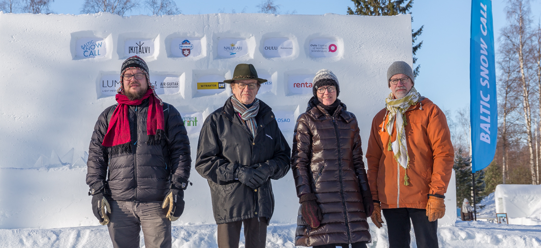 BSC 2018 Jury: Antti Tenetz, Juhani Lillberg, Nina Heikkonen, Ricky Sandberg. 5th member of the jury Matti Vaskimo is missing from the picture! Photo Sami Hänninen.