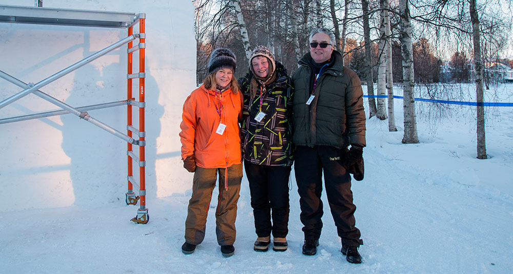 Team Universum! Photo by Sami Hänninen.